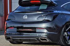 Cup Diffusor Ansatz für Opel Astra Typ J OPC AB Bj. 2012 Cap Heck Ansatz INE