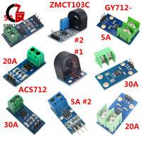 5A/20A/30A Range ACS712/GY712/ZMCT103C Current Sensor Module for Arduino