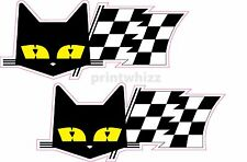 2x SEV MARCHAL Race Rally Le Mans 24 hours Car Decal Vinyl Stickers 100x40mm