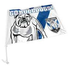 Canterbury Bulldogs NRL CAR Window Pole Flag Fathers Day Man Cave Bar GIFT