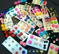Wholesale Jewelry Lot - New Stud Earrings 100 pairs FREE SHIPPING  #US Seller 💗