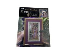 "Teresa Wentzler ""Romeo & Juliet"" Cross Stitch Pattern by Leisure Arts"
