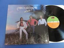 EMERSON LAKE & PALMER  LOVE BEACH Atlantic 78 A1B1 UK 1st pr LP EX/EX