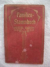 Familienstammbuch Stammbuch von Sigmund u. Margarethe Kaufmann  Mannheim 1912