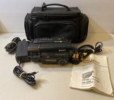 Sony Ccd-Tr416 Video 8 Xr HandyCam 180x Digital Zoom 18x Optical NightShot 8mm