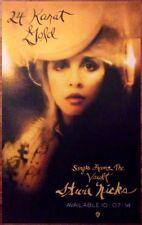 Stevie Nicks 24 Karat Gold Greatest Hits Ltd Ed Discontinued Rare New Poster!