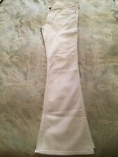 Abercrombie & Fitch White Flared Jeans W29 L32 NEW