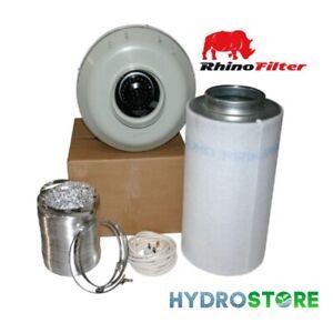 "12"" 315mm RVK Fan L1 and Rhino filter kit 315mm/1000mm."