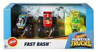 Hot Wheels Monster Trucks 1:64 Die-Cast Spielzeugauto 3er Geschenkset Spielzeug