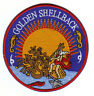 US NAVY GOLDEN SHELLBACK PATCH                                                 Y