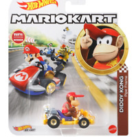 Hot Wheels Mario Kart Die-Cast DIDDY KONG Standard Kart - VHTF Free Shipping