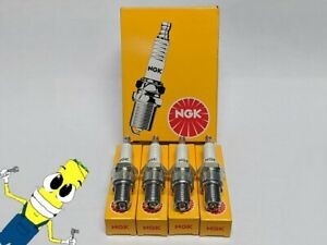 NGK (7162) DR8EA Standard Spark Plug - Set of 4