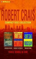 Robert Crais Compact Disc Collection: Voodoo River/Sunset Express/Indigo Slam (C
