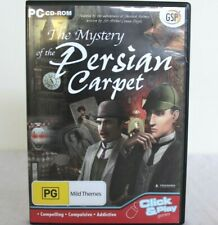 PC Games-The Mystery of the Persian Carpet - PC CD-ROM, Hidden Object Game