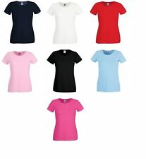 Fruit of the Loom Crew Neck Regular Size T-Shirts for Women
