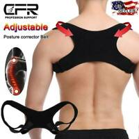 Posture Corrector Men Women Upper Back Brace Clavicle Support Back Straightener