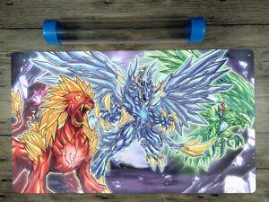 Yu-Gi-Oh! Adamancipator Deck Trading Card Game Duel Custom Playmat Free BestTube