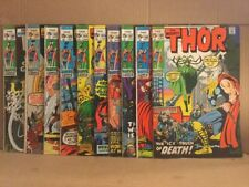 Thor Lot Of 10 #180-189