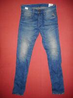 Replay ANBASS Slim Fit  W30 L34  RRP £135  Mens Blue Denim Jeans   N6
