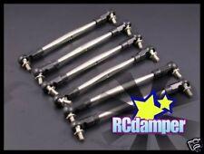 GPM Titanium Tie-Rod Turnbuckle 6pcs HPI Nitro MT2 G3.0