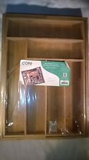 Core Bamboo Large Expnadable Flatware Tray