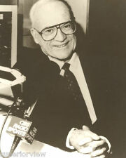 Radio Announcer Ernie Harwell Voice of The Detroit Tigers Detroit Michigan LOOK