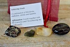 Moldavite Eudialyte Citrine Nuumite Natural Stone Achieving Goal Crystal Healing