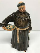 "Vtg Royal Doulton Figurine * The Jovial Monk * Hn 2144 1953 England 8"" H Mint"