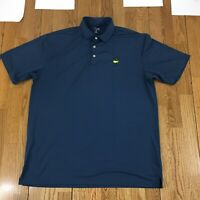 Masters Tech Collection Golf Polo Shirt Men's Size XL Short Sleeve Stretch Rugby