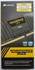 Corsair Vengeance LPX 1x8GB DDR4 RAM 2400MHz Nero