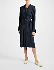 NEW Joseph Crepe de Chine New Duke Dress- navy size 36 US 2-4 $799