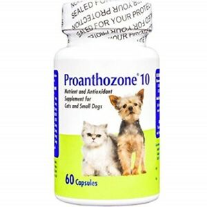 Proanthozone 10 Nutrient and Antioxidant Supplement for Cats and Small Dogs, 60