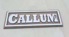 Personalised Wooden Bedroom Name Door Sign / Plaque Baby Girl Boy Gift Toy Box
