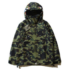 4478e377ad92 New BAPE Windbreaker A Bathing Ape Camo Coat Jackets BAPE Zip Coat Hoodie  Sweats
