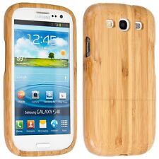 kwmobile Holz Schutz Hülle für Samsung Galaxy S3 S3 Neo Bambusholz Natur Braun