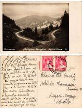 CPA Montagnes SHERGHIU Defile Bicax. ROMANIA (502681)