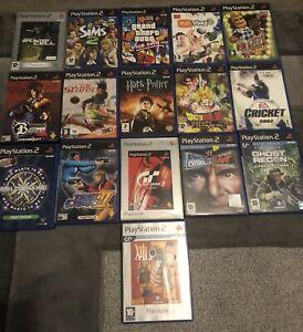 X16 Playstation 2 PS2 Games Joblot Job Lot Bundle