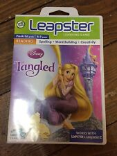 Leap Frog Leapster Disney Tangled Learning Game Reading 4/7yrs