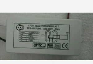 Replacement ELECTRONIC BALLAST 1x16W For Fluorescent Lamps 2D
