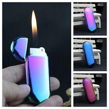 Metal Butane Gas Lighter Refillable Adjustable Flame Cigar Cigarette Lighters