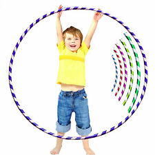 Multicolour Hula Hoops Childrens Kids Exercise Glitter Plastic Hoola Hoop 45 CM