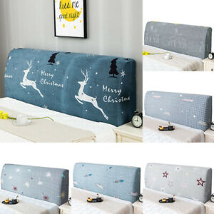 Bed Headboard Cover Beds Headboard Slipcover Covers Dustproof Protector Printed