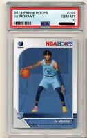Ja Morant Rookie Card PSA 10 Gem Mint Rookie Card NBA Hoops RC #259 🔥