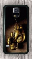 VINTAGE GOLD BOXING GLOVES CASE COVER FOR SAMSUNG GALAXY S5 -cas3Z