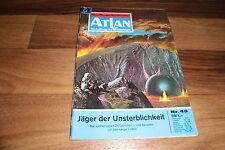 ATLAN  # 49 -- JÄGER der UNSTERBLICHKEIT // Perry Rhodan Red. / 1. Auflage 1972