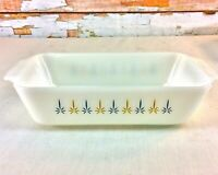 "Anchor Hocking Fire King Candle Glow 11"" Baking Dish Rectangle Casserole 441 USA"