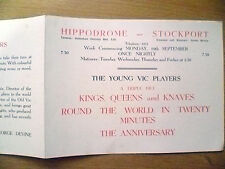 Hippodrome Theatre Prog-KINGS,QUEENS & KNAVES,ROUND THE WORLD IN TWENTY MINUTES
