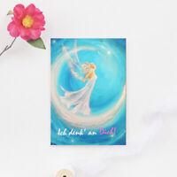 "Genesungskarte ""Ich denk' an Dich"" Krankheit, Postkarte, Karte, Engel, Wünsche"