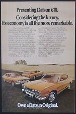 Datsun 610 Original 1973 Vintage Ad