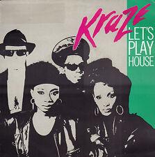 "KRAZE – Let's Play House (1989 HOUSE VINYL SINGLE 7"" TORSO HOLLAND)"